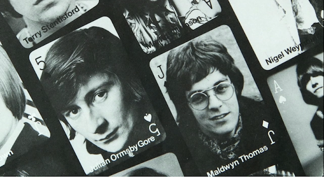 The Sweet Jane Blog: English Boy Ltd Model Agency head sheet, featuring Julian Ormsby-Gore, Nigel Weymouth, Maldwyn Thomas, and Brian Jones (1967).