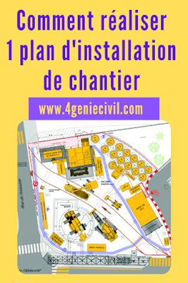 Plan installation chantier - présentation powerpoint