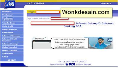 contoh user id bca