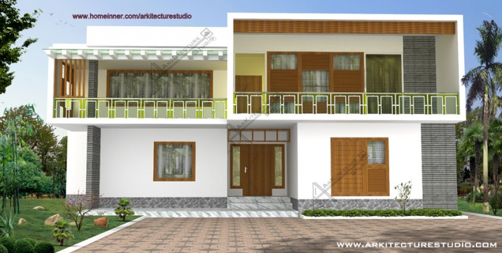 box type house design archives indian home design free