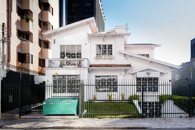 Uma casa na Rua da Glória - fachada