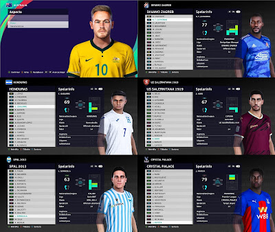 PES 2021 MiXed Facepack 47