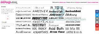 7 Daftar Situs Tempat Download Font Keren Gratis
