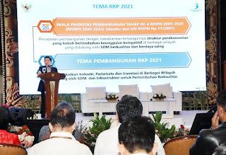 Menteri PPN/Kepala Bappenas Suharso Monoarfa Tetapkan Lima Program Prioritas di 2021