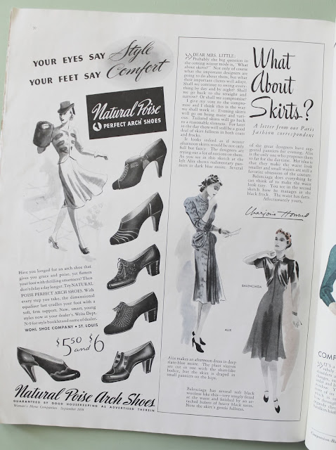 1930s and 40s womens home companion fashion magazine