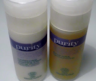 Purity Organic's Cleansing Lotion & Facial Wash