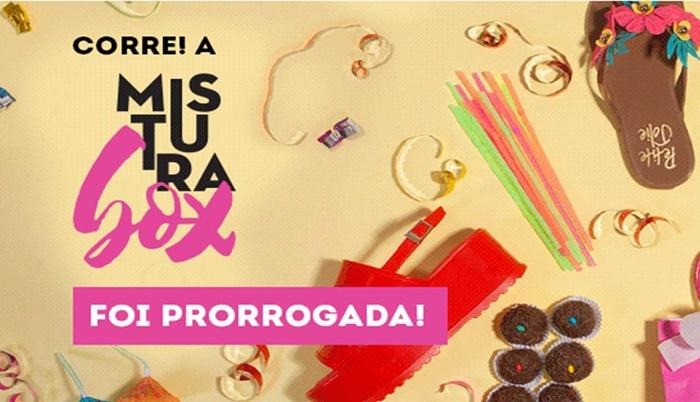 Promoção Mistura Box!