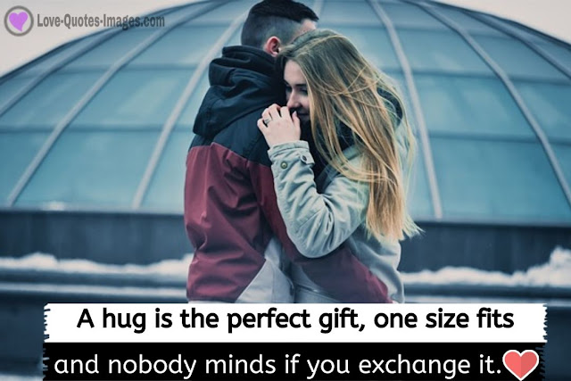 Hug Image with Quotes