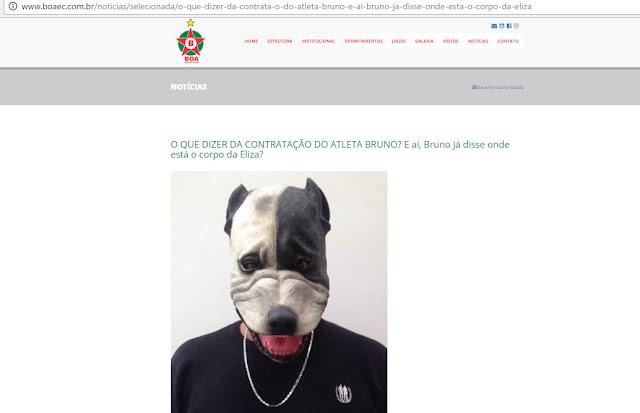 [News] Hackers invadem site do Boa Esporte contra contratação do Goleiro Bruno Untitled-9