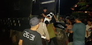 Bubarkan Balap Liar, Tim Bali Sat Lantas Polres Bone Angkut 10 Motor