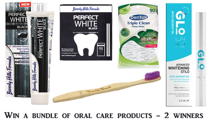 Win a bundle of oral care products