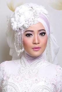 Foto Hijab Pengantin Kebaya Terbaru