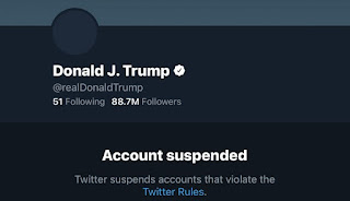 Trump Banned on Twitter