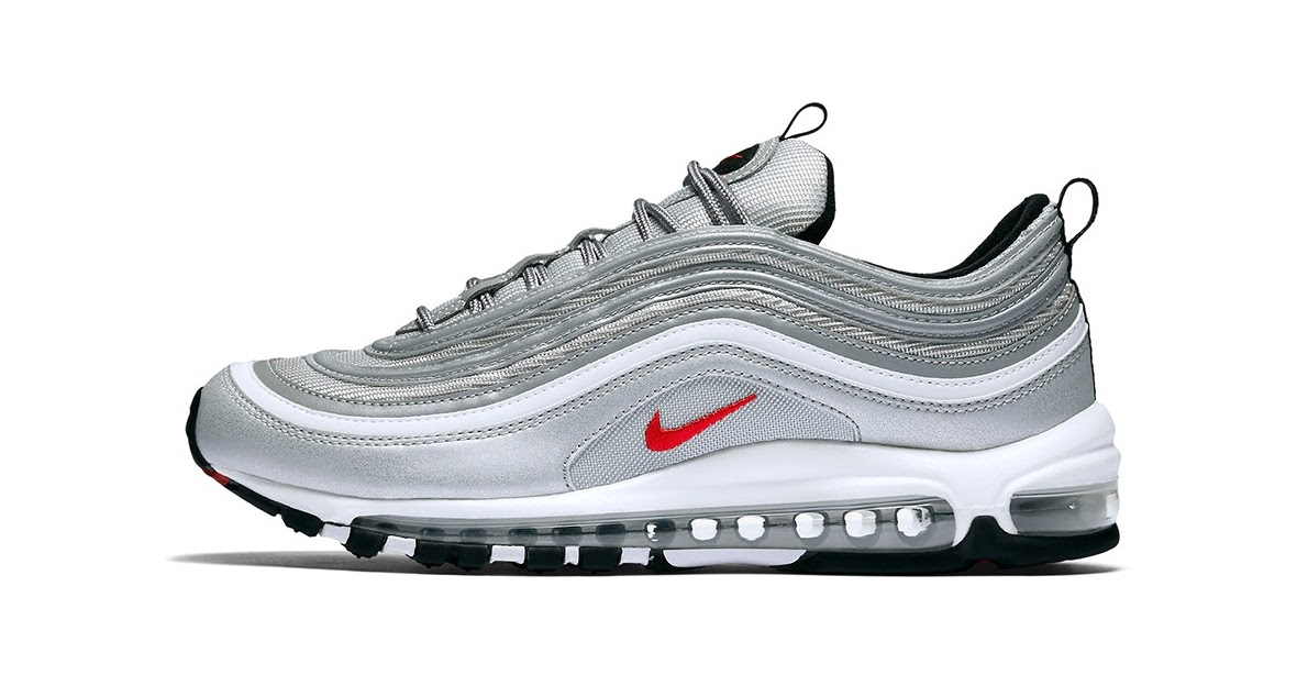 """premium selection 48e56 05a61 The Nike Air Max 97 """"Silver Bullet"""" Back Again - Planet of the Sanquon"""
