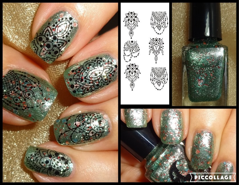 Wendy\'s Delights: Green Glittery Shimmery Nail Polish and Jewelry ...