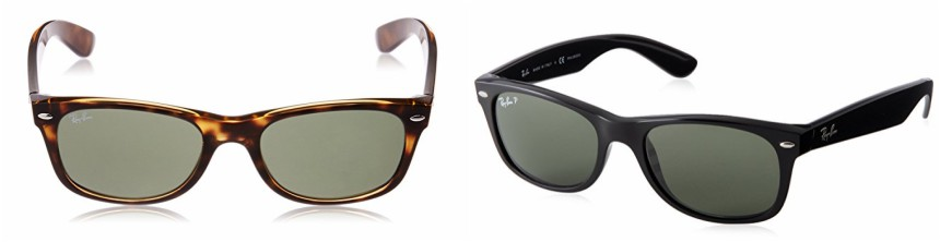 Ray-Ban New Wayfarer Sunglasses in tortoise for $91 (reg $140) or black for $97 (reg $140)