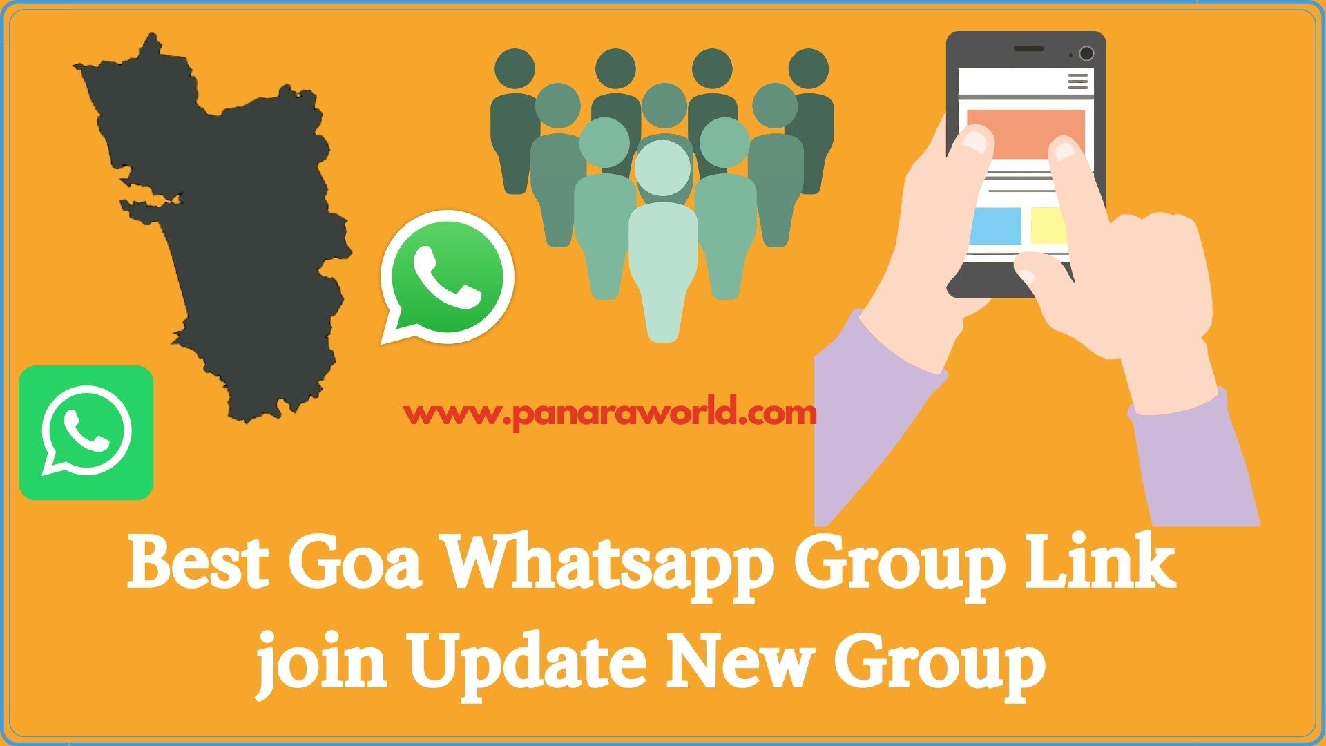Best Goa Whatsapp Group Link