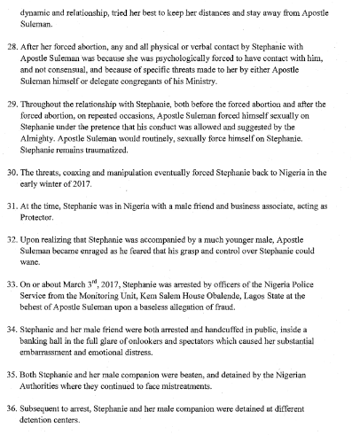 2aaaa - Stephanie Otobo files $5m lawsuit against Apostle Suleman in Canada ,see the court papers