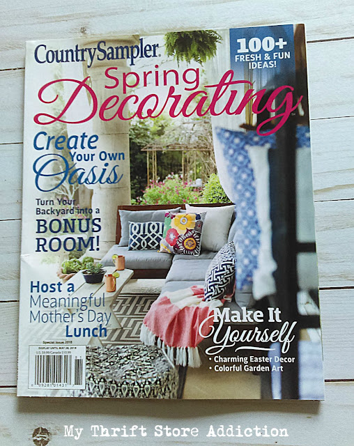Country Sampler Spring Decorating giveaway