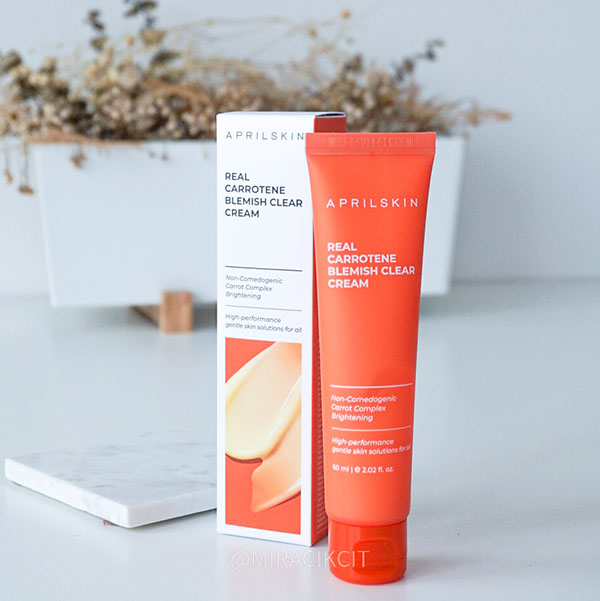 Aprilskin Carrot Cream Review