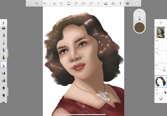 Draw an illustration in Autodesk SketchBook App