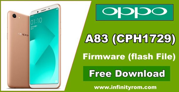 Oppo A83 (CPH1729) MT6763 Flash File Scatter CM2 Readed