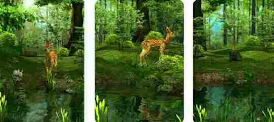 3D Nature Deer Live Wallpaper