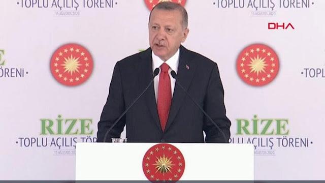 أردوغان, لن نطأطئ, الرأس, للعربدة, في جرفنا, القاري, بالمتوسط