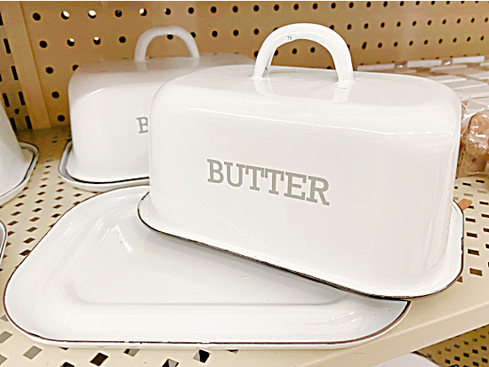 Hobby Lobby butter dish just like mine