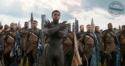 Avengers Infinity War T'Challa Wakanda soldiers