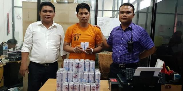 Pria Pengangguran GOL Karena Nyolong Susu Kaleng Di Mini Market