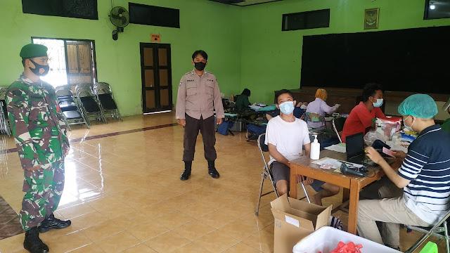 Sosial: Karang Taruna Desa Klodran Gelar Donor Darah
