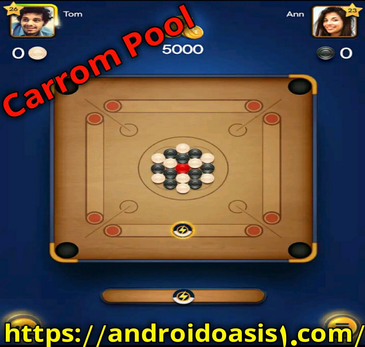 تحميل لعبة carrom pool مهكرة للايفون