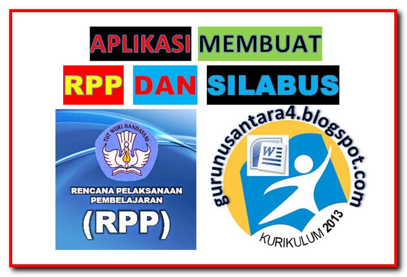 Aplikasi Pembuatan Rpp Silabus Otomatis Terbaru Guru Nusantara