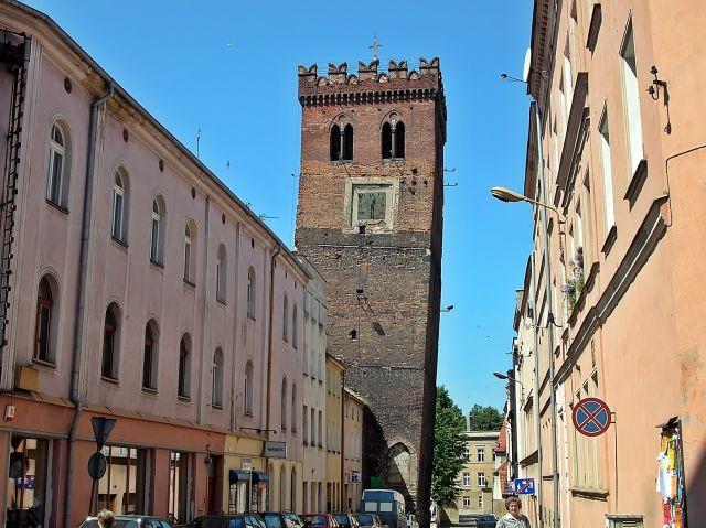 Dolny Śląsk, wieża, zdjęcia wieży, Frankenstein