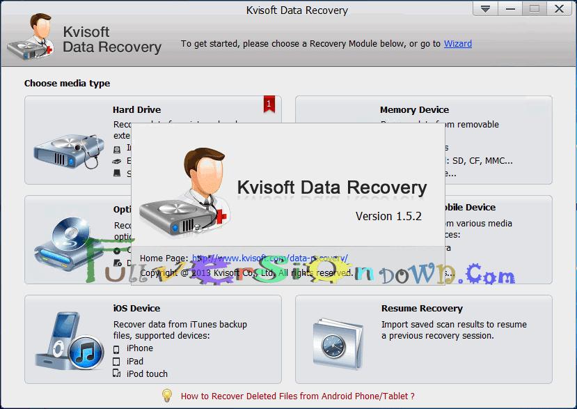 Kvisoft Data Recovery Latest Full
