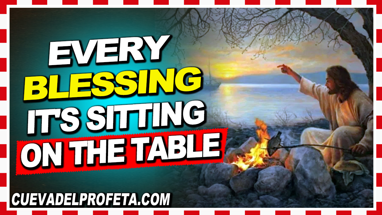 Every redemptive blessing it's sitting on the table - William Marrion Branham