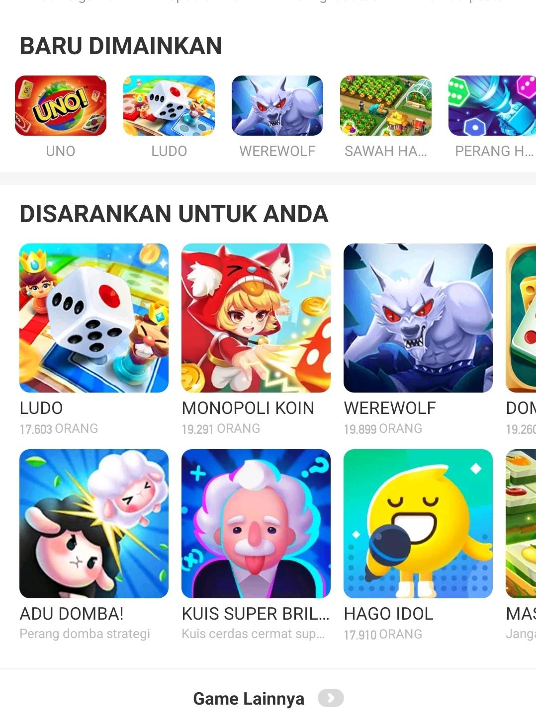 anti bosan hago games 1 aplikasi untuk