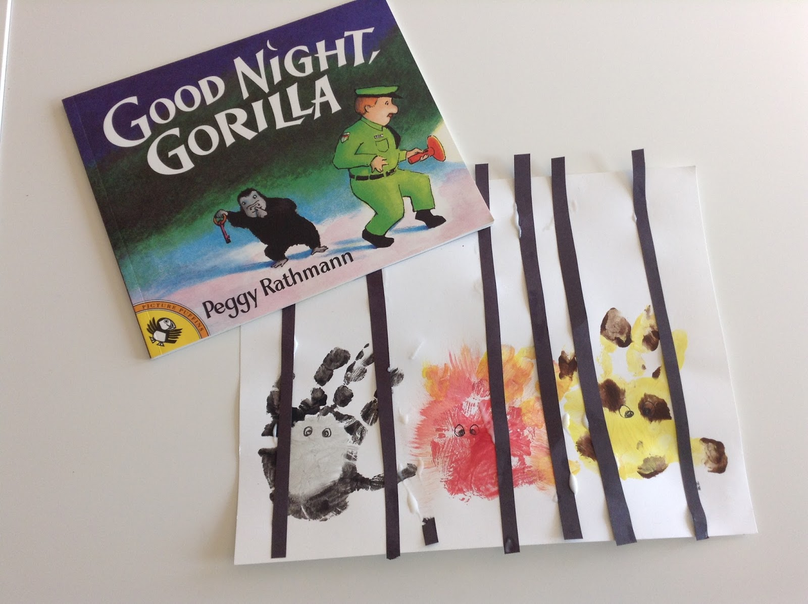 Teachermomplus3 Tot School Good Night Gorilla Craft