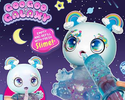 Игрушки Goo Goo Galaxy пришельцы со слаймом