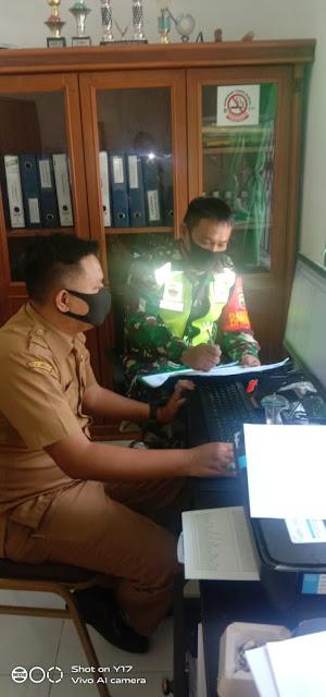 Update Data Kewilayahan, Personel Jajaran Kodim 0207/Simalungun Laksanakan Pul Data Ter Diwilayah