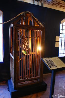 Alcuni strumenti nel Museo delle Torture di Grazzano Visconti