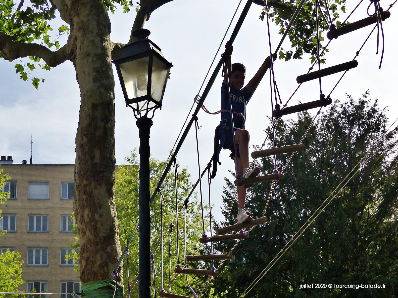 Accrobranche, Places d'été Tourcoing 2020