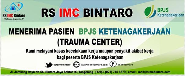 Jadwal Dokter Rumah Sakit IMC Bintaro dan Fasilitas Layanannya