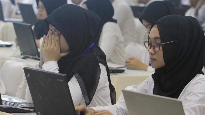 Berdoa dan berserah diri menghadapi Tes SKD