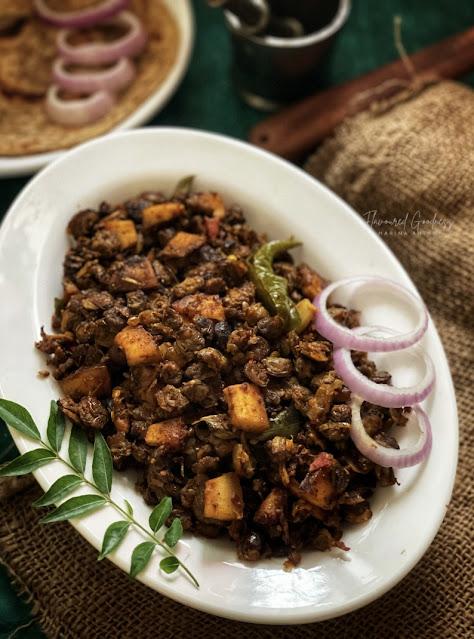 Clam Roast | Kakka Eracht Roast Recipe - Kerala Style