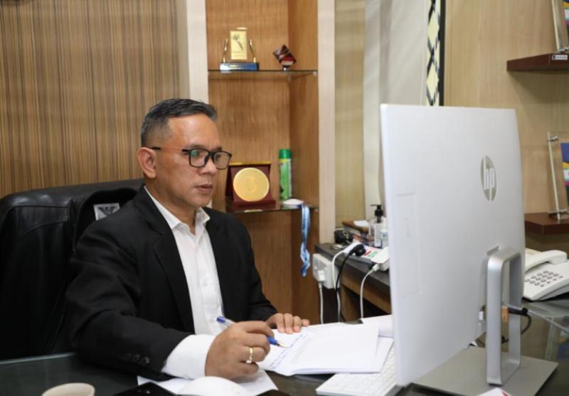 PPID BP Batam Ikuti Monev KIP 2020 Secara Daring