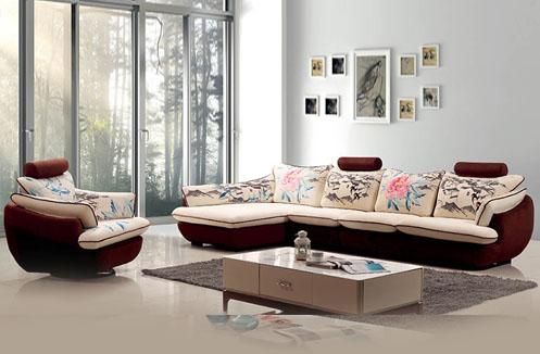 Chọn ghế sofa chất liệu gì cho phòng khách rộng?