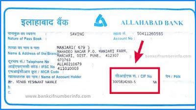 Allahabad Bank Passbook