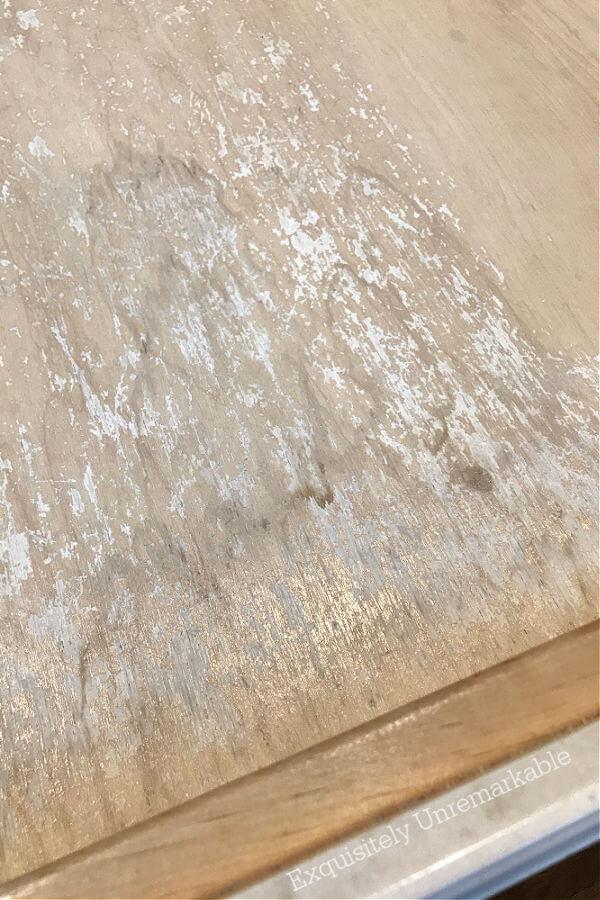 Old Worn Kitchen Utensil Drawers